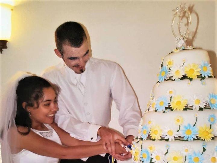 Tmx Daisy Wedding Cake 51 166751 1568652076 Virginia Beach, Virginia wedding cake