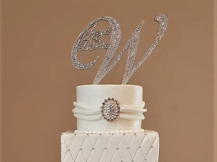 Tmx Elegant White And Silver Wedding Cake 51 166751 1568652050 Virginia Beach, Virginia wedding cake