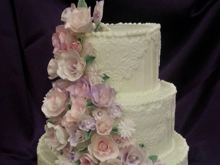 Tmx Fancy Fondant Cake 51 166751 1568652077 Virginia Beach, Virginia wedding cake