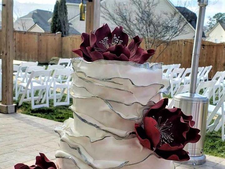 Tmx Fondant Ruffles 51 166751 1568652074 Virginia Beach, Virginia wedding cake