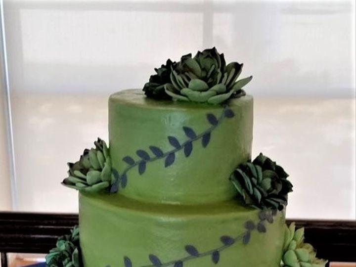 Tmx Green Wedding Cake 51 166751 1568652066 Virginia Beach, Virginia wedding cake