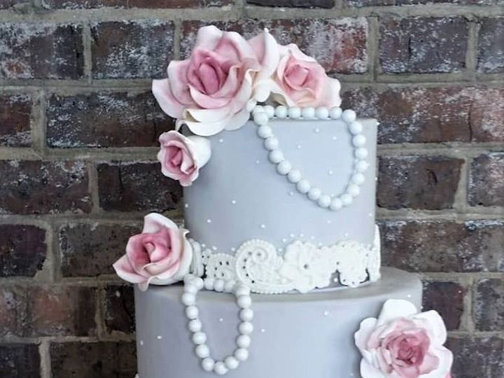 Tmx Grey And Pink Wedding Cake 51 166751 1568652077 Virginia Beach, Virginia wedding cake