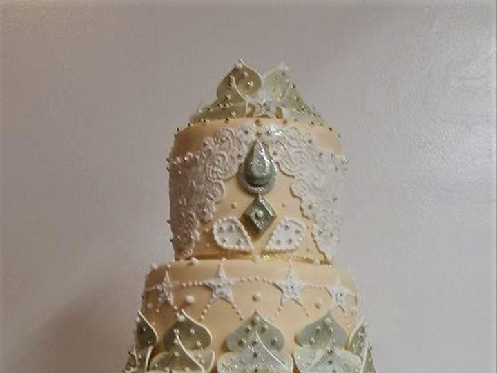 Tmx Intricate Wedding Cake 51 166751 1568652094 Virginia Beach, Virginia wedding cake