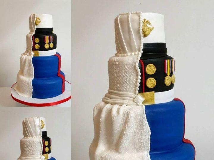 Tmx Marine Corps Wedding Cake 51 166751 1568652103 Virginia Beach, Virginia wedding cake