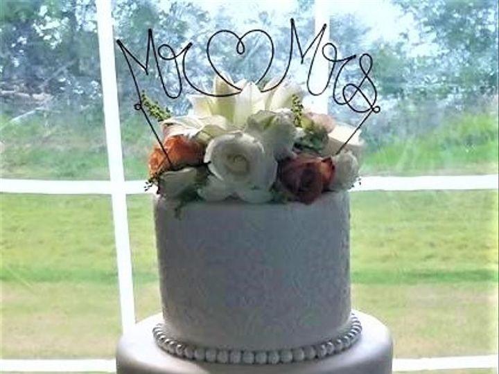 Tmx Monogram Wedding Cake 51 166751 1568652090 Virginia Beach, Virginia wedding cake