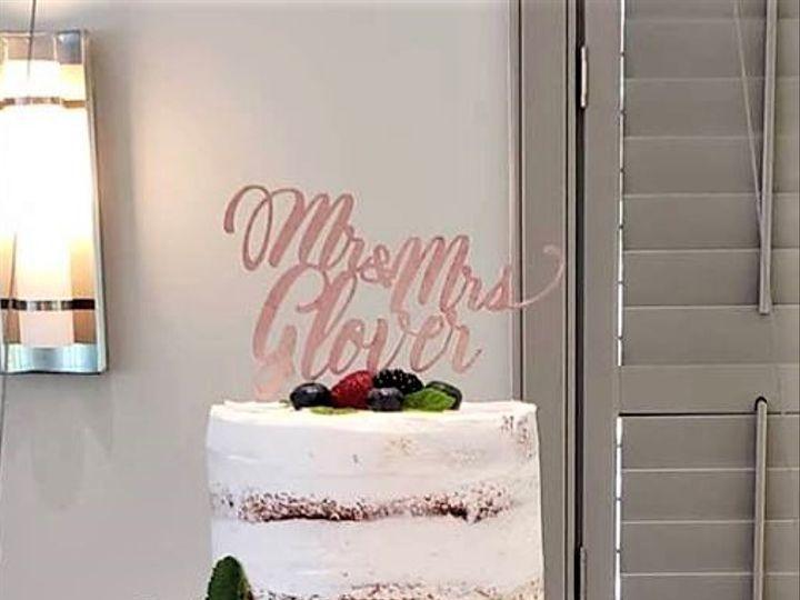 Tmx Naked Cake With Fresh Fruit Wedding Cake 51 166751 1568652105 Virginia Beach, Virginia wedding cake