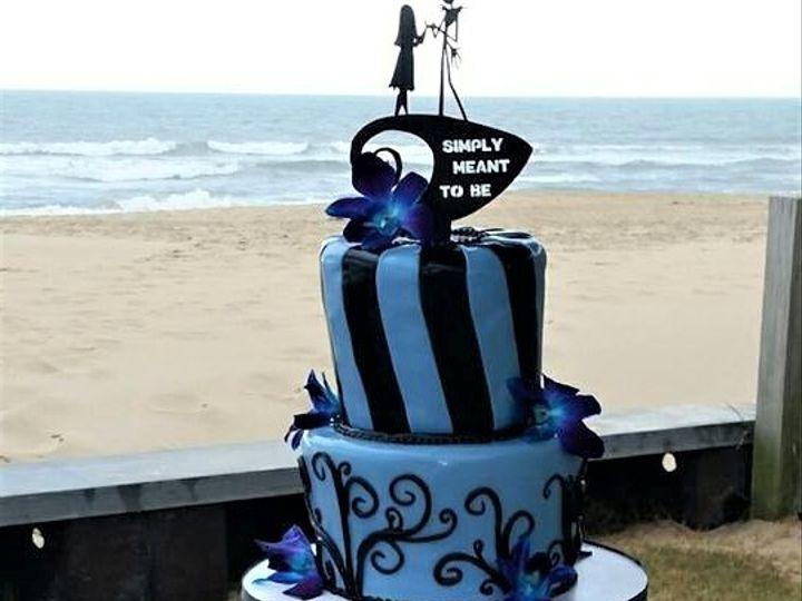 Tmx Nightmare Cupcakes 51 166751 1568652086 Virginia Beach, Virginia wedding cake
