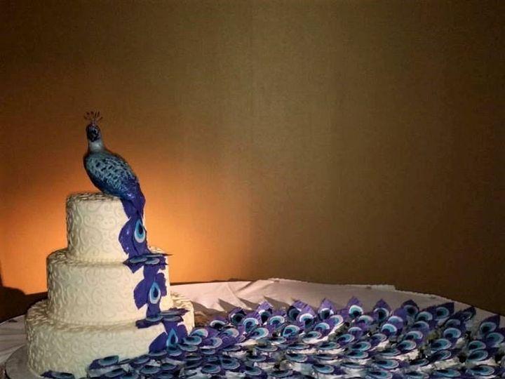 Tmx Peacock Wedding Cake 51 166751 1568652115 Virginia Beach, Virginia wedding cake