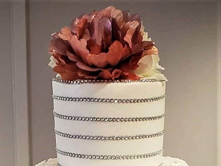 Tmx Silver Jewels Wedding Cake 51 166751 1568652115 Virginia Beach, Virginia wedding cake