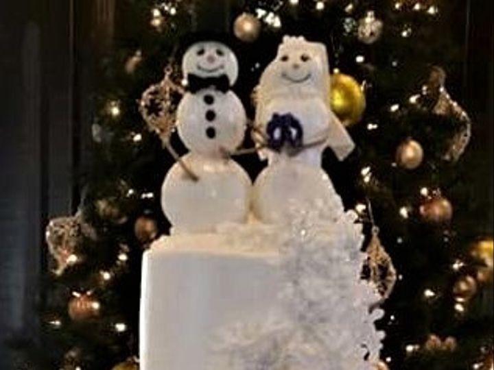 Tmx Snowman Wedding Cake 51 166751 1568652115 Virginia Beach, Virginia wedding cake