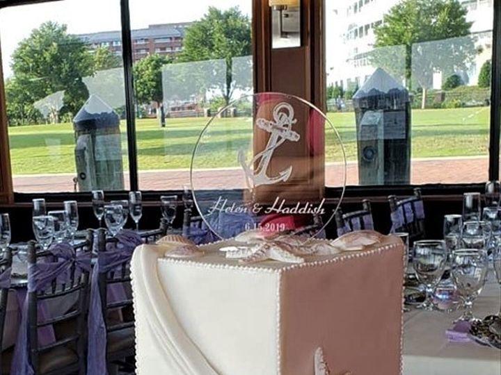 Tmx Square Wedding Cake 51 166751 1568652100 Virginia Beach, Virginia wedding cake