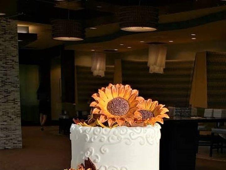 Tmx Sunflower Cake 51 166751 1568652135 Virginia Beach, Virginia wedding cake