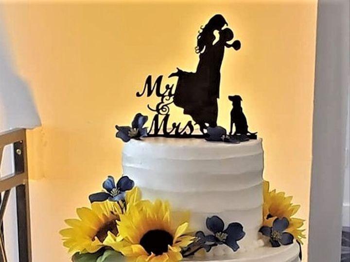 Tmx Sunflower Wedding Cake 51 166751 1568652119 Virginia Beach, Virginia wedding cake