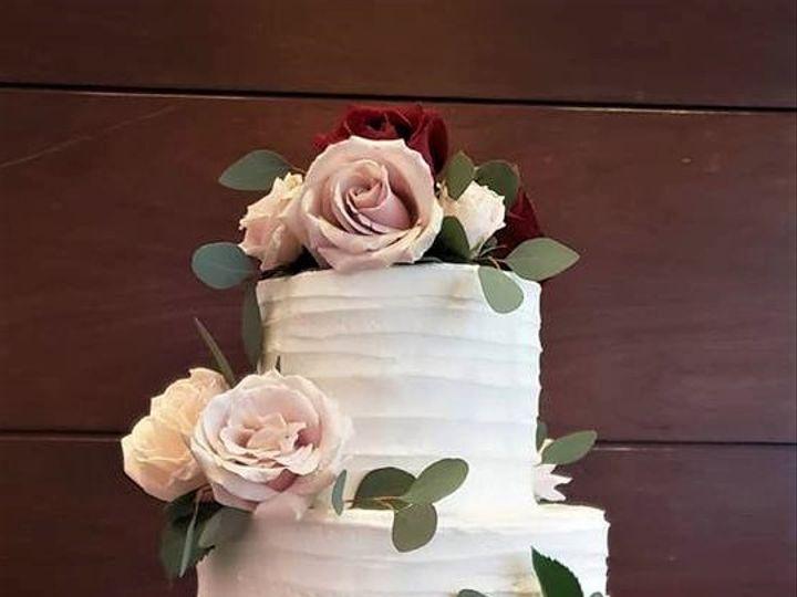 Tmx Textured Buttercream And Roses 51 166751 1568652145 Virginia Beach, Virginia wedding cake