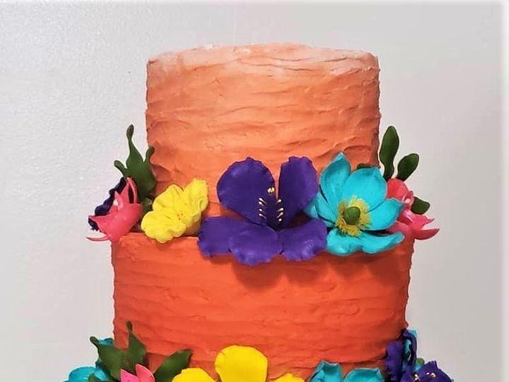Tmx Tropical Wedding Cake 51 166751 1568652131 Virginia Beach, Virginia wedding cake