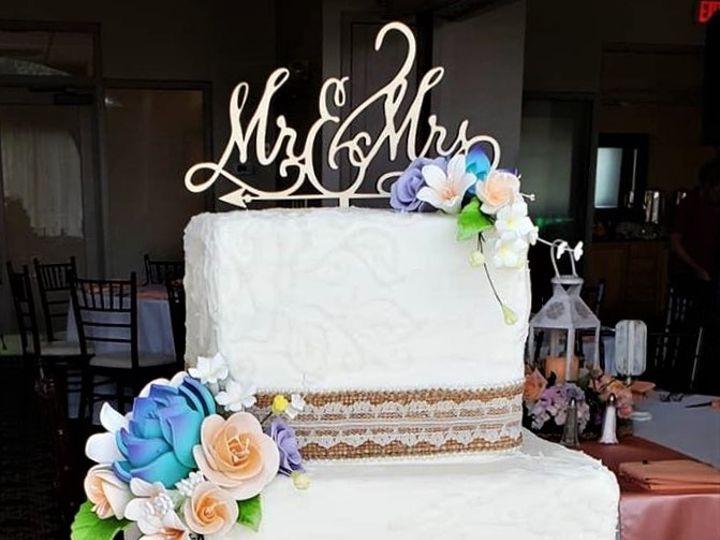 Tmx Wedding Cake With Burlap 51 166751 1568652113 Virginia Beach, Virginia wedding cake