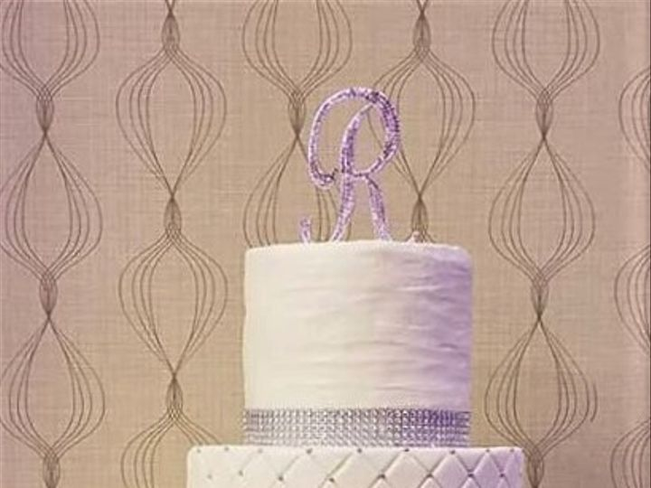Tmx White And Silver Wewdding Cake 51 166751 1568652149 Virginia Beach, Virginia wedding cake