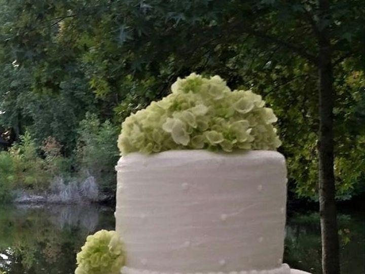 Tmx White Wedding Cake With Green Flowers 51 166751 1568652131 Virginia Beach, Virginia wedding cake