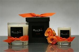 SOFT MINK SOY CANDLE (Rose Geranium Scent)  This bold fragrance alleviates fears and gives back...