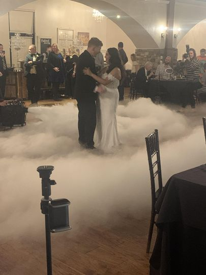 Dancing on a cloud!