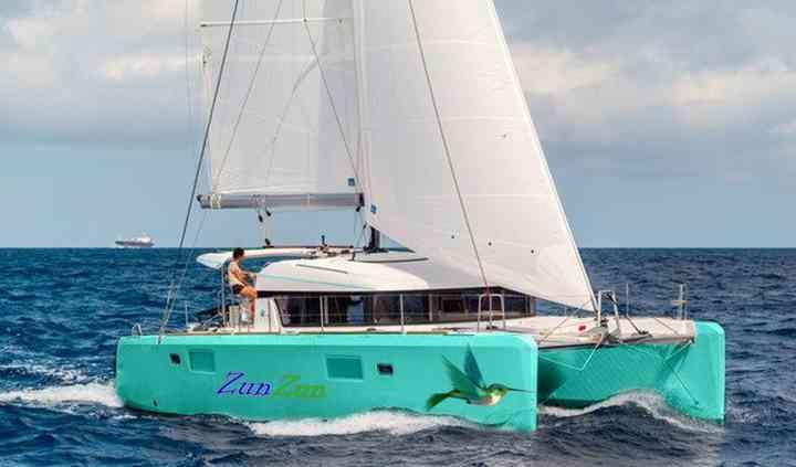 Zunzun Sailing Yacht & Floating Spa Virgin Islands