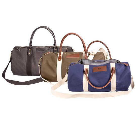 the man registry canvas leather duffle bags