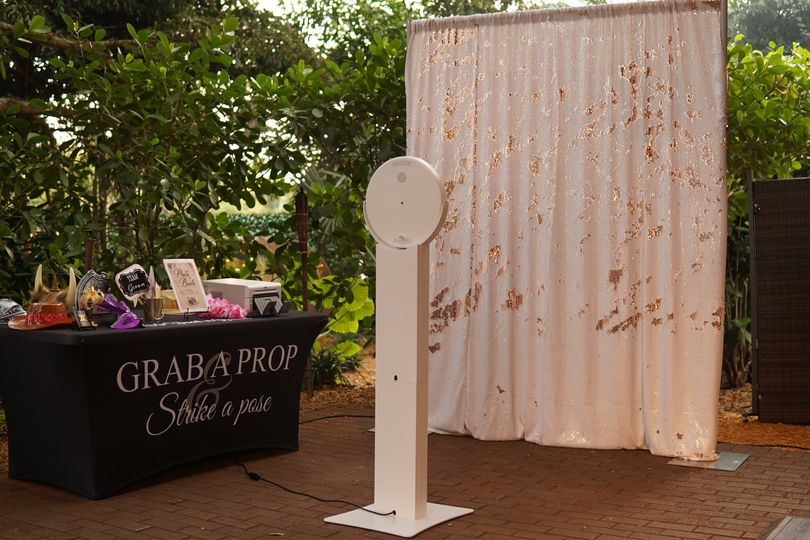 Our gorgeous Photo Booth!