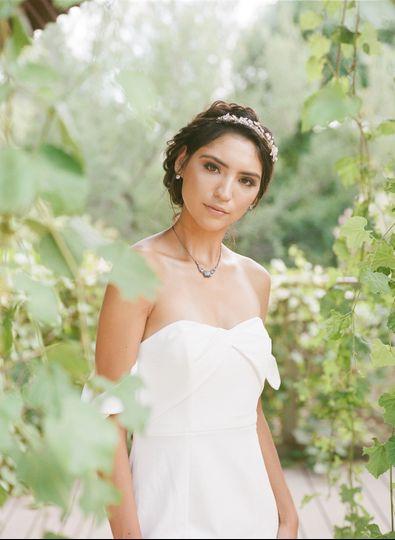 Springs preserve bridal shoot