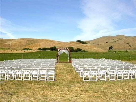 Ceremony on a private Sonoma County ranch