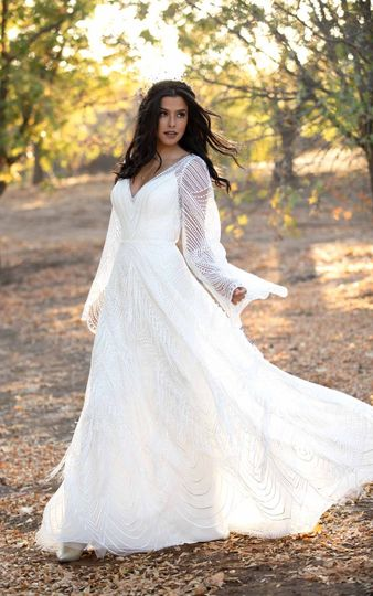All Who Wander Bridal Gown