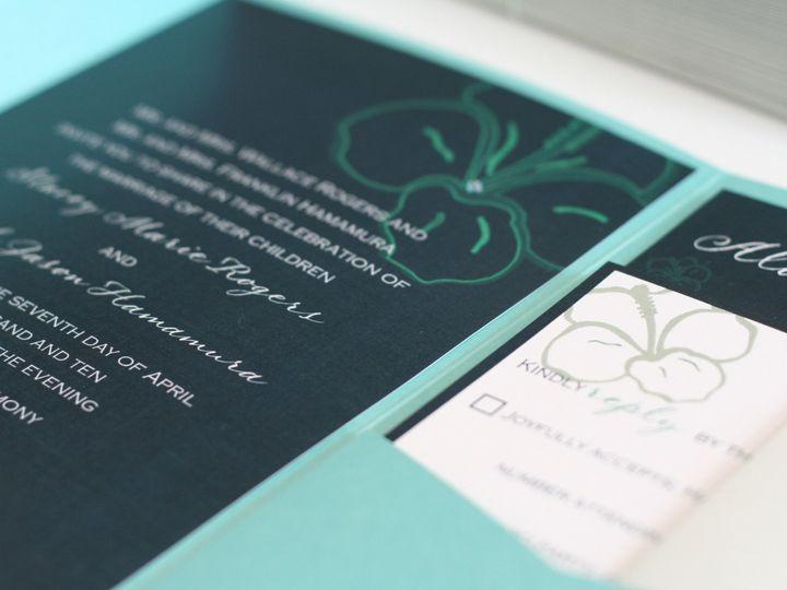 Tmx 1383591292088 Hawaiihibiscus Wedding Invitation  Murrieta wedding invitation