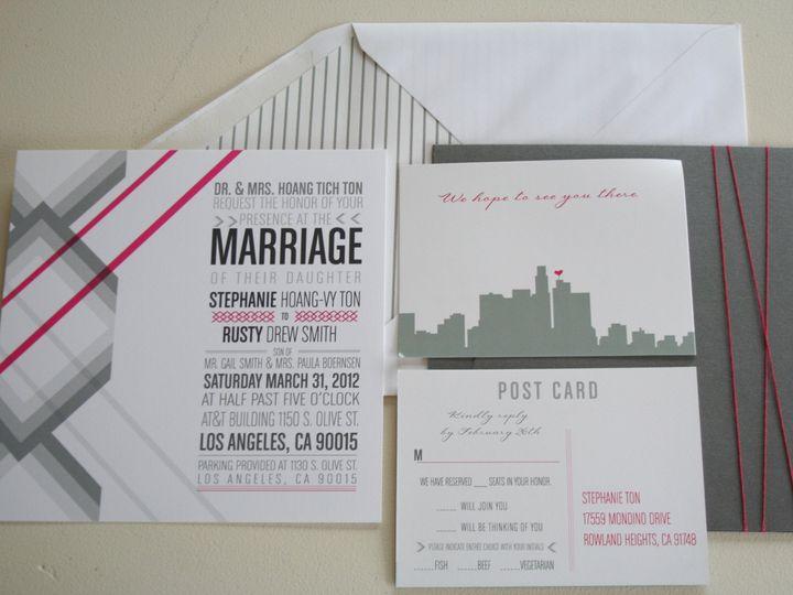 Tmx 1383591670965 Img649 Murrieta wedding invitation