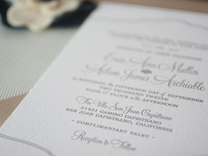 Tmx 1383591694829 Img627 Murrieta wedding invitation