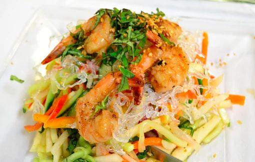 Crystal Mango Shrimp Salad