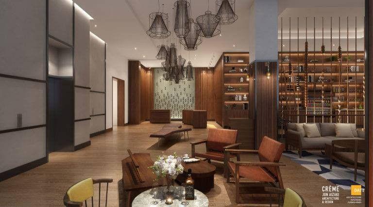 Stylish lobby