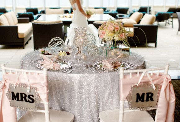 Table for Mr. and Mrs.