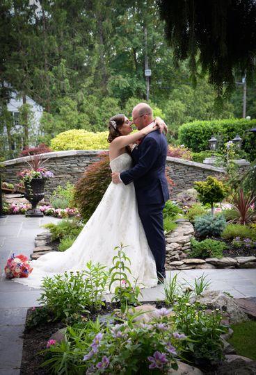 Garden Wedding Photo