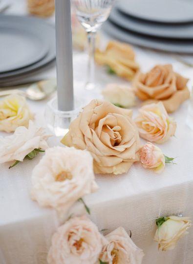 Puerto Vallarta wedding table