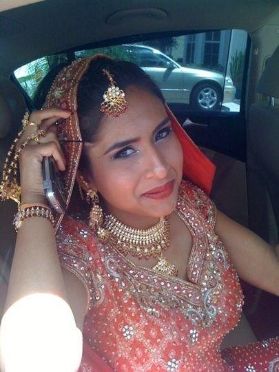 Indian Wedding Coral Springs, Fl. Bride