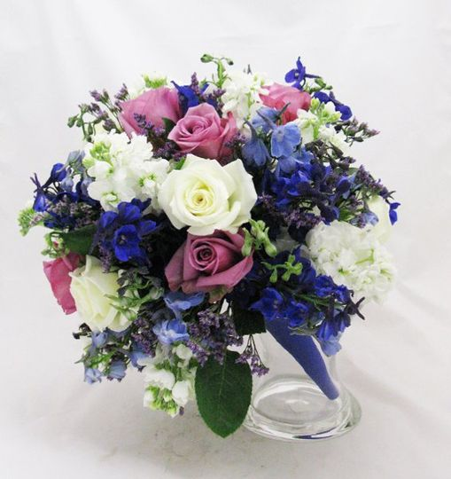 Contreras-purple blue lavender bouquet