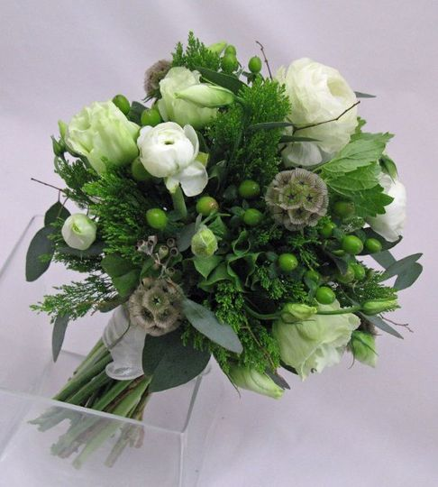 Garden design wedding bouquet.