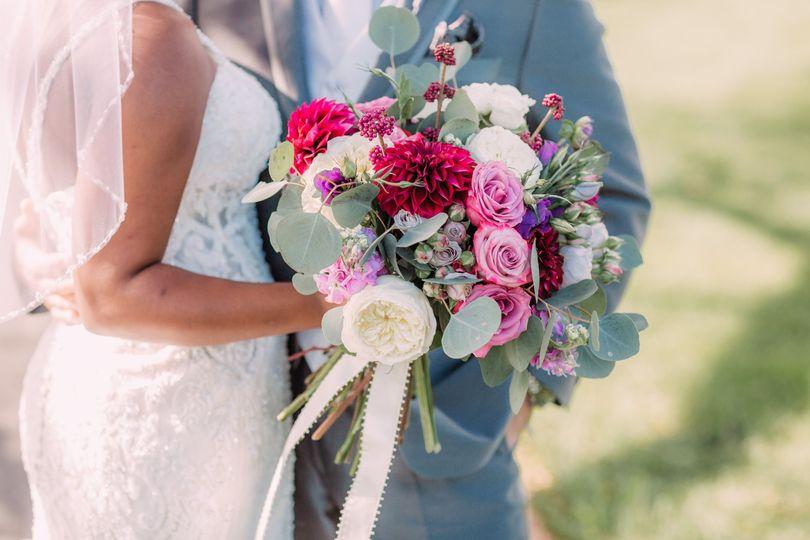 Bridal Bouquet- Purples!