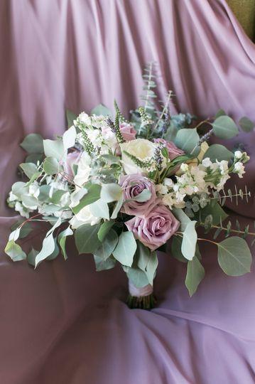 Bridal Bouquet-Lavender & Sage