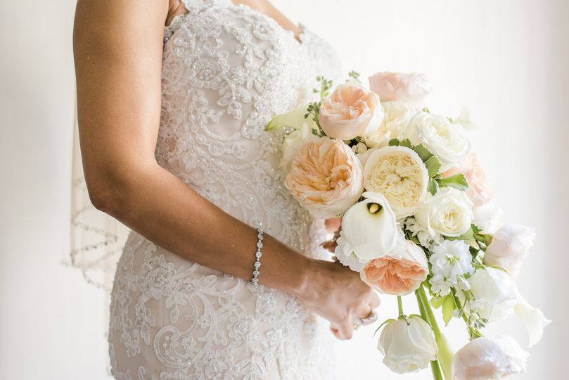 Bridal Bouquet- soft hues