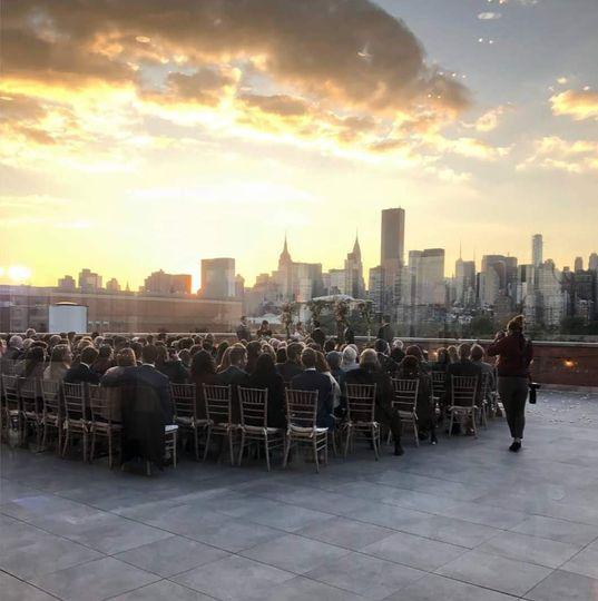 3rd Floor outdoor ceremony
