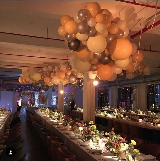 3rd Floor seated dinner
