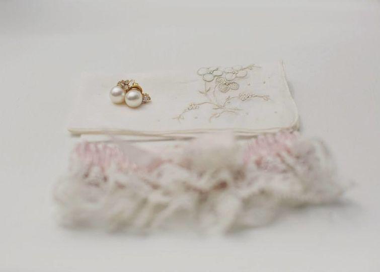 Brides garter and accesories