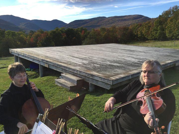 Violin and cello