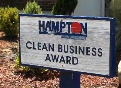 hampton clean business award