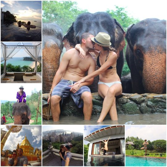 Honeymoon Bliss in Thailand